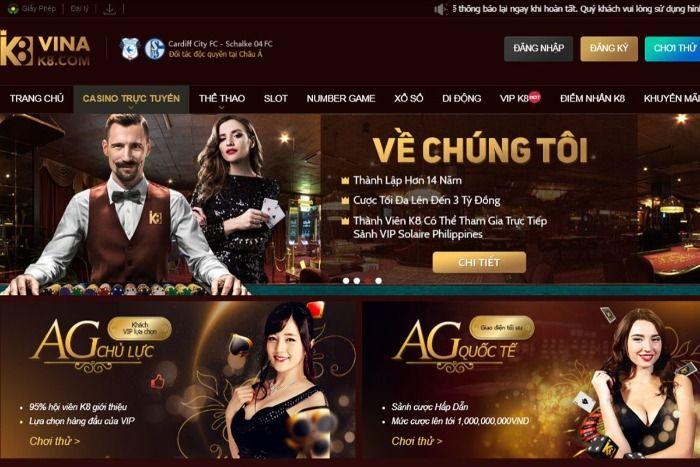 Hiện tại, K8 đang là nhà cái lô đề giải trí hàng đầu hoạt động tại Việt Nam