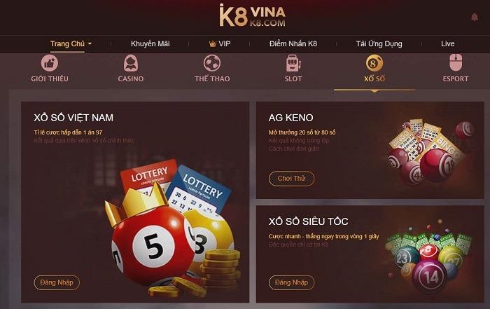 Đánh giá nhà cái lô đề K8 chuẩn xác